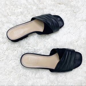 Franco Sarto | Black Heeled Sandals
